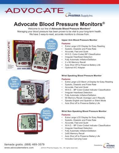 Advocate Blood Pressure Monitors®