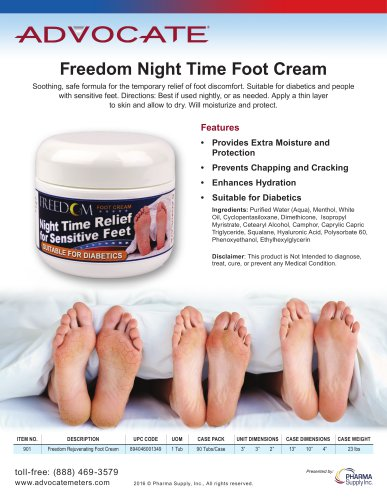 Freedom Night Time Foot Cream