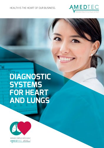 Diagnostic systems for the heart and lungs