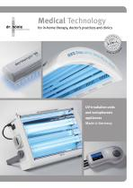 Medical Technology for in-home therapy, doctor's practices and clinics UV-irradiation