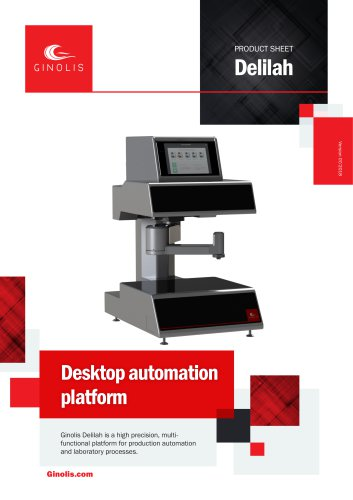 Ginolis Delilah Automation Platform