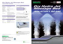 dry hydromaddage bed