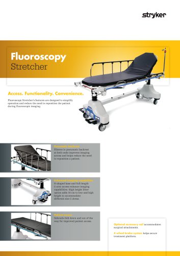 Fluoroscopy Stretcher