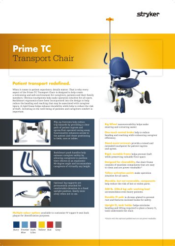 Prime TC Transport Chair