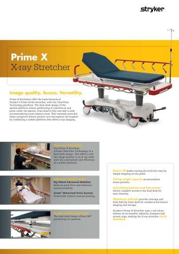Prime X | X-ray stretcher