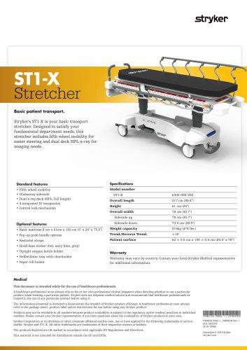 ST1-X Stretcher