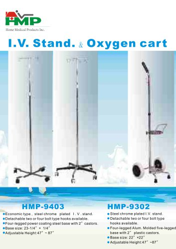 IV Stand and Oxygen