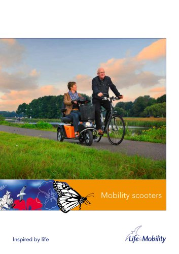 Brochure mobility scooters