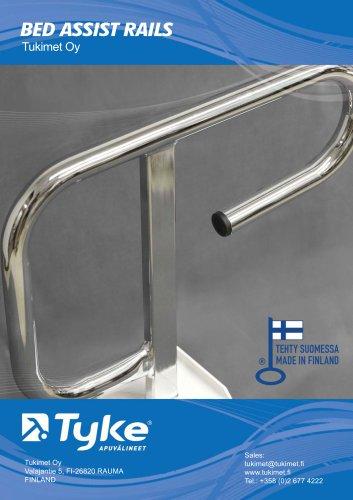 Bed assist rails