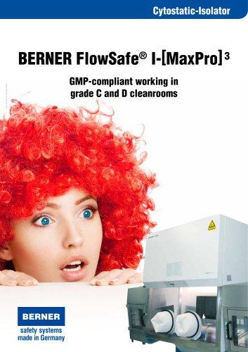 BERNER Cytostatic Glovebox Isolator
