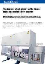 BERNER Cytostatic Glovebox Isolator - 2