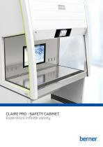CLAIRE PRO - SAFETY CABINET - 1