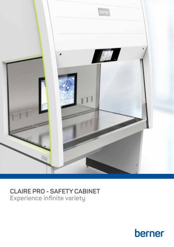 CLAIRE PRO - SAFETY CABINET