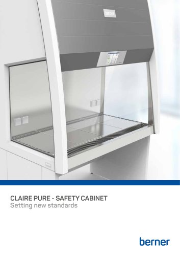 CLAIRE PURE - SAFETY CABINET