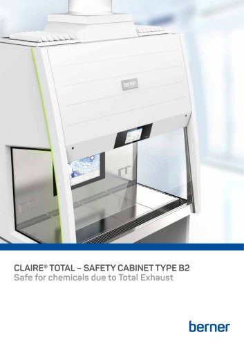 claire® total safety cabinet