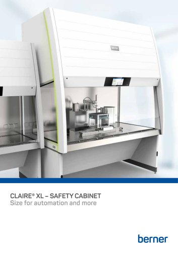 CLAIRE® XL – SAFETY CABINET