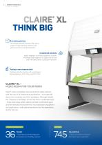 CLAIRE® XL – SAFETY CABINET - 2