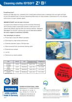 Cleaning cloths ISYSOFT Z + + ® PLUS B + + - 2