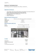 Cleaning tool II for safety cabinets | Berner Safety - 1