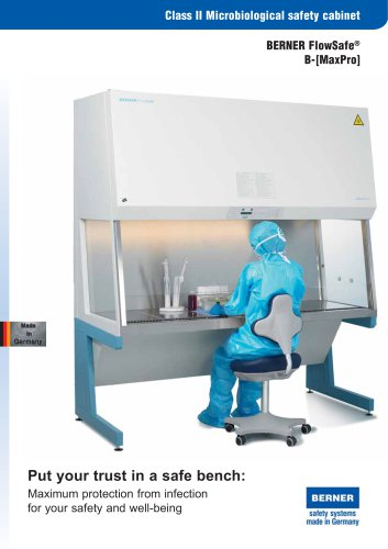 Microbiological Safety Cabinet B-[MaxPro]²