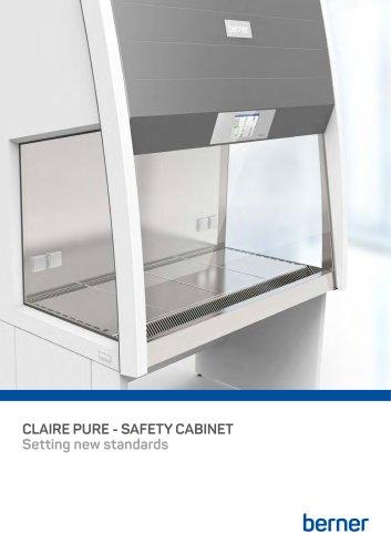 safety cabinet BERNER Claire pure | Berner Safety