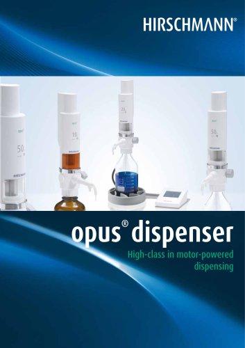 opus ® dispenser
