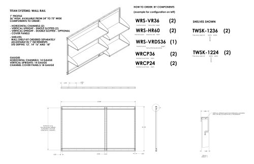 Wall Rail System