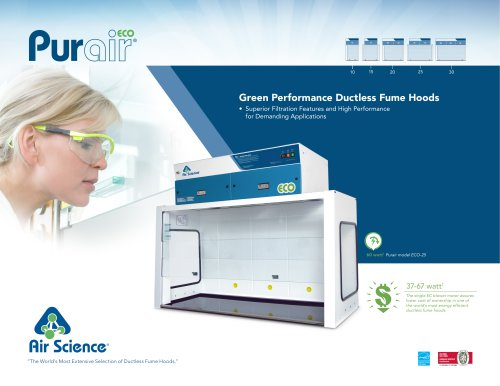 Purair ECO Ductless Fume Hoods