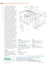 Series 582 V er tical Flow Hardwall Modular Clean Rooms - 2