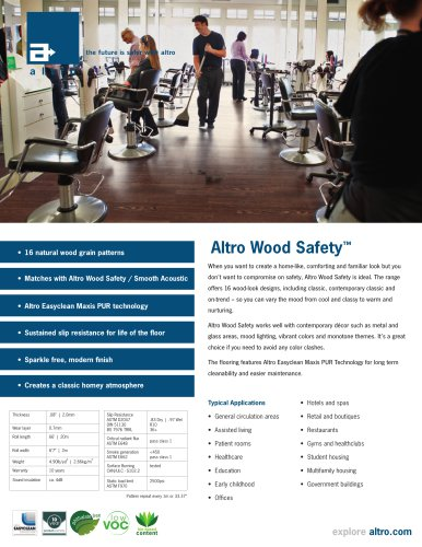 Altro Wood Safety ™