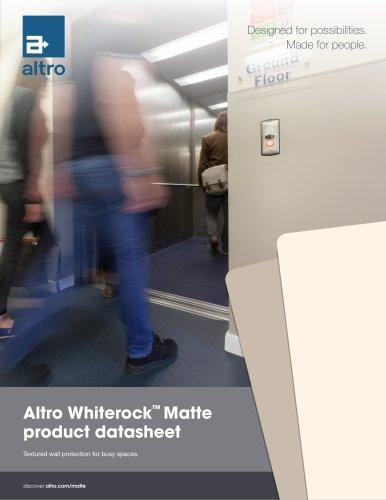 Whiterock Matte