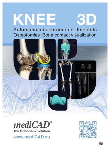 mediCAD Knee 3D