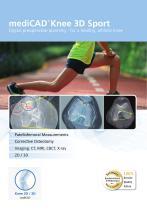 mediCAD® Knee 3D Sport - 1