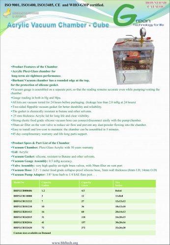Acrylic Vacuum Chamber Burhani BHFTECH