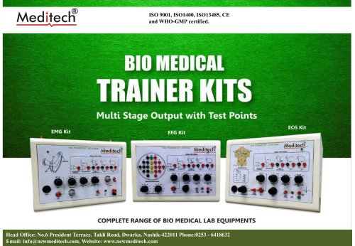 Bio Medical Training Kit Meditech