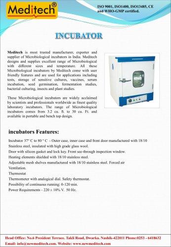 Incubator Meditech