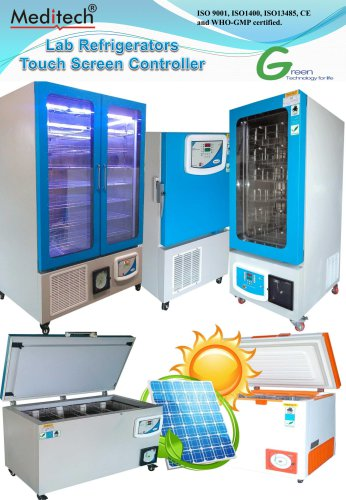 Laboratory Refrigerator Touch Screen