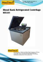 Microprocessor Blood Bank Refrigerated Centrifuge 6 and 12 Bags Large