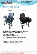 Phlebotomy chair - 1
