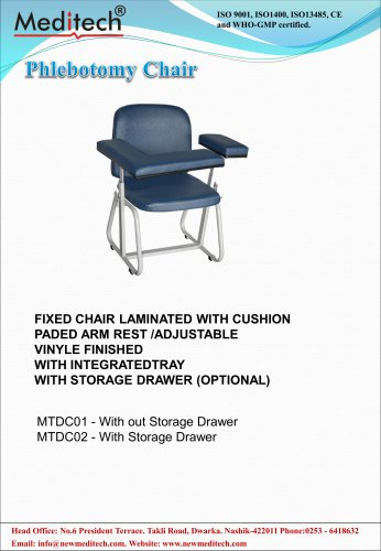Phlebotomy Chair Meditech