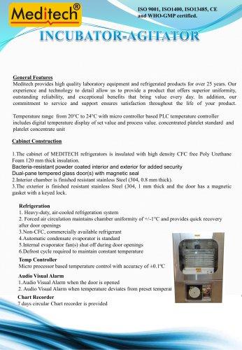 platelet incubator agitator