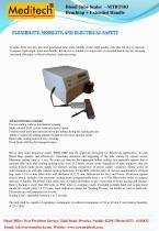 Portable / Benchtop blood tube sealer