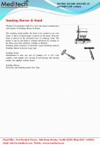 Smoking Burner & Stand - 1