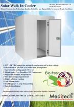 Solar Walk in Cooler - 1