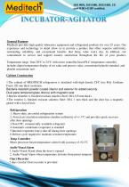 Stainless steel incubator-agitator - 1