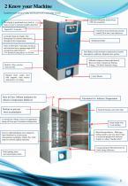 Ultra Low Plasma freezer with backup - 2