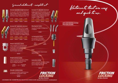 Friction Locking Bone System