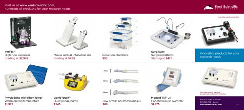General Anesthesia and Surgical Monitoring Brochure