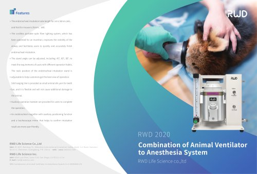 Combination of Animal Ventilator to Anesthesia System