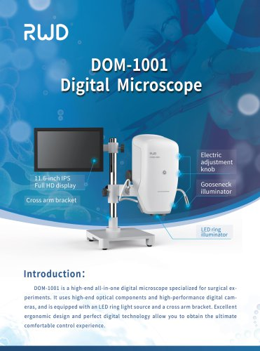 DOM-1001 Digital Operating Microscope